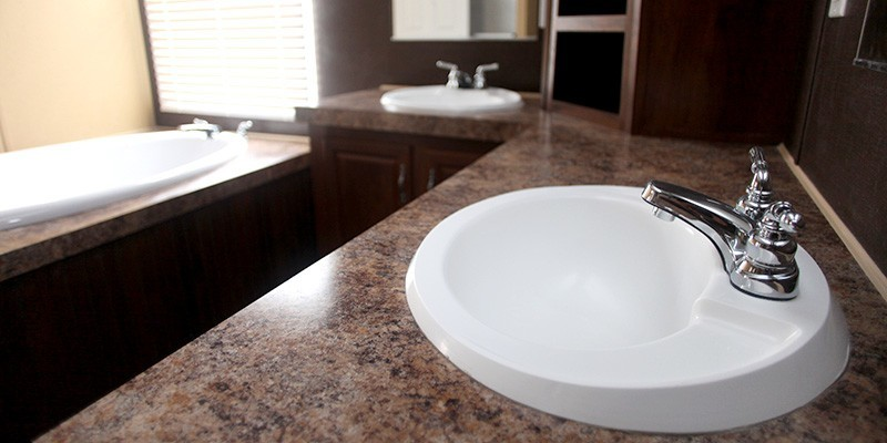 Bathroom Sinks For Mobile Homes weston we32643w double wide 3 bed 2 bath mobile home for sale