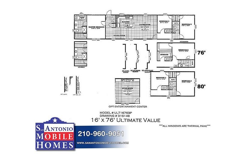 Ultimate Value Ult16763p 3 Bed 2 Bath In San Antonio
