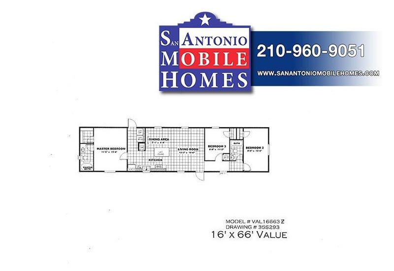 Value Of Mobile Homes 3/2 value manufactured mobile home for sale in san antonio
