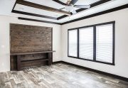 Patriot Home - Living Room - Lino with Tray and Beams
