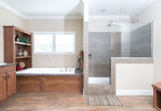Clayton Schult Tyler Mobile Home Master Bathroom