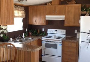 Eagle 14401X Mobile Home Kitchen