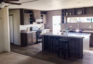 Weston 28523W Mobile Home Kitchen