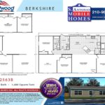 Fleetwood Berkshire 32563B Mobile Home Branded Floor Plan