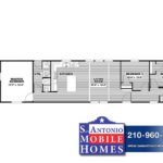Annie Mobile Home - Branded Floor Plan