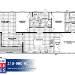 Clayton Lily Mae - Mobile Home - Branded Floor plan