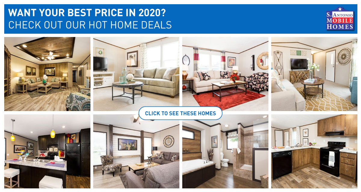 2020 mobile home deals