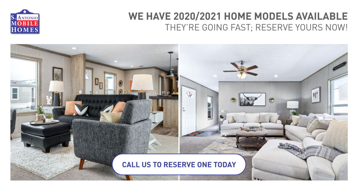 2020/2021 Mobile Homes For Sale in San Antonio, TX